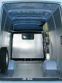 01Interior van protections Iveco Daily