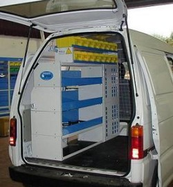 02Van storage solution Piaggio Porter