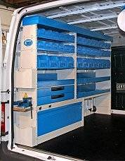 08Racking units Ford Transit